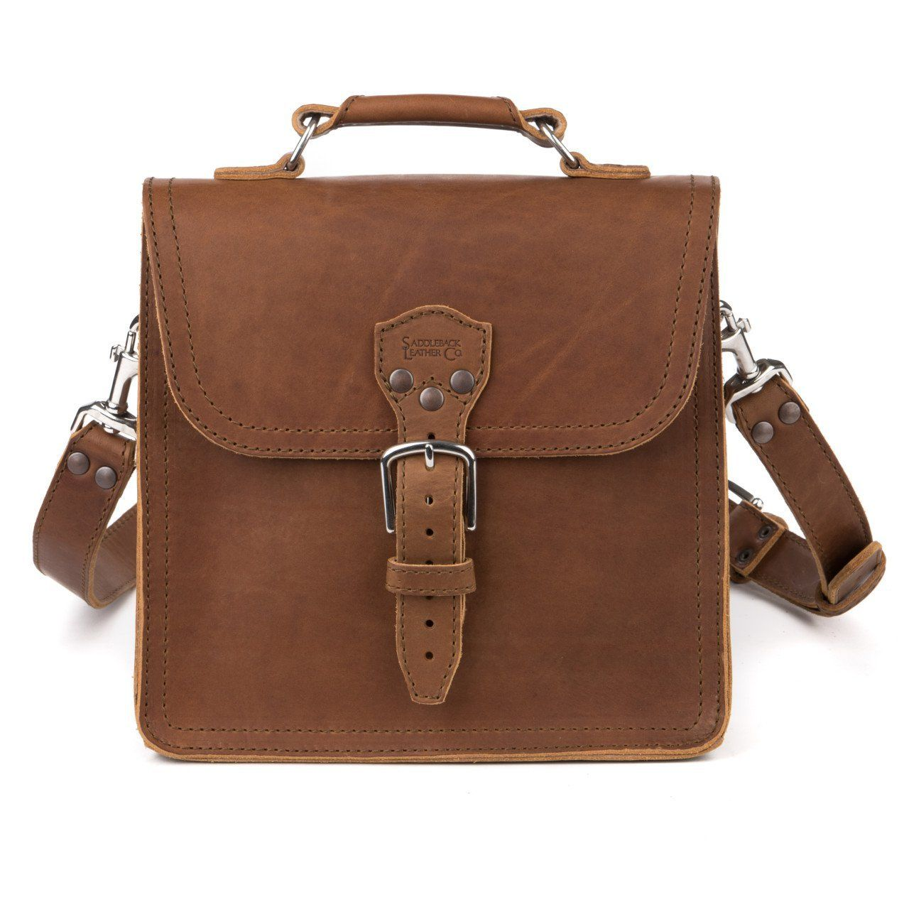Saddleback Leather Indiana Satchel - Best Leather Satchel Bag for ...