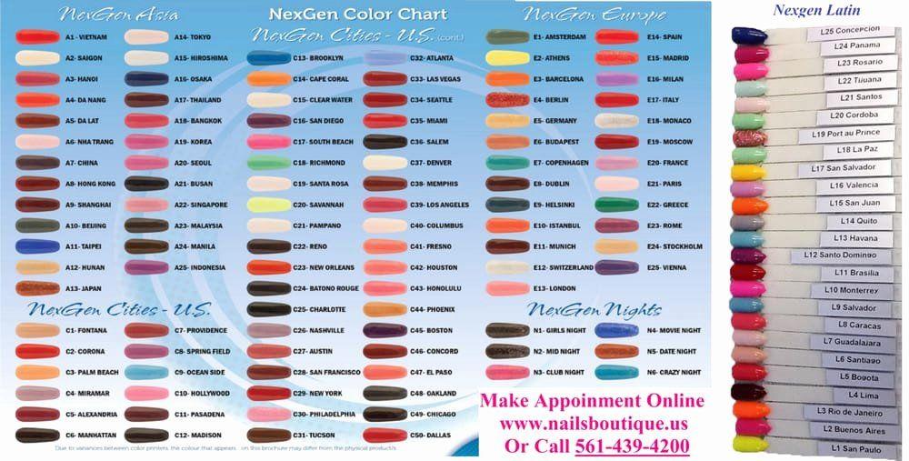 Nexgen Nail Powder Colors Lovely New 156 Colors Of Nexgen Dipping Powder Yelp In 2020 Nexgen Nails Powder Nails Popular Nail Colors