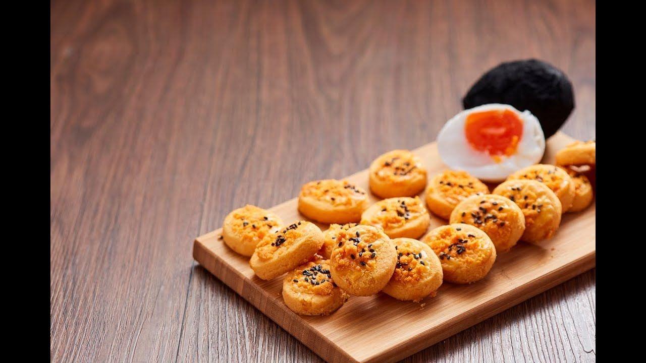 Salted Egg Yolk Cookies | Egg yolk cookies, Kitchen aid ...