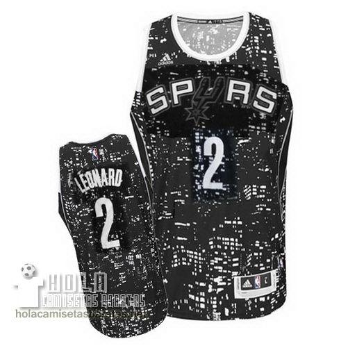 Camisetas Nba Baratas Ciudad Luces Swingman Leonard #2 Gris San Antonio Spurs  €21.9