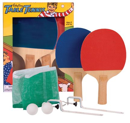 Table Tennis Game Set Kids Dads Will Get A Kick Out Of Turning The Dining Room Table Into A Table Tennis Co Table Tennis Game Table Tennis Set Table Tennis
