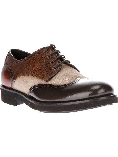 8e109aaafb8 Zapatos  Giorgio  Armani-brown-laceup  Shoes...