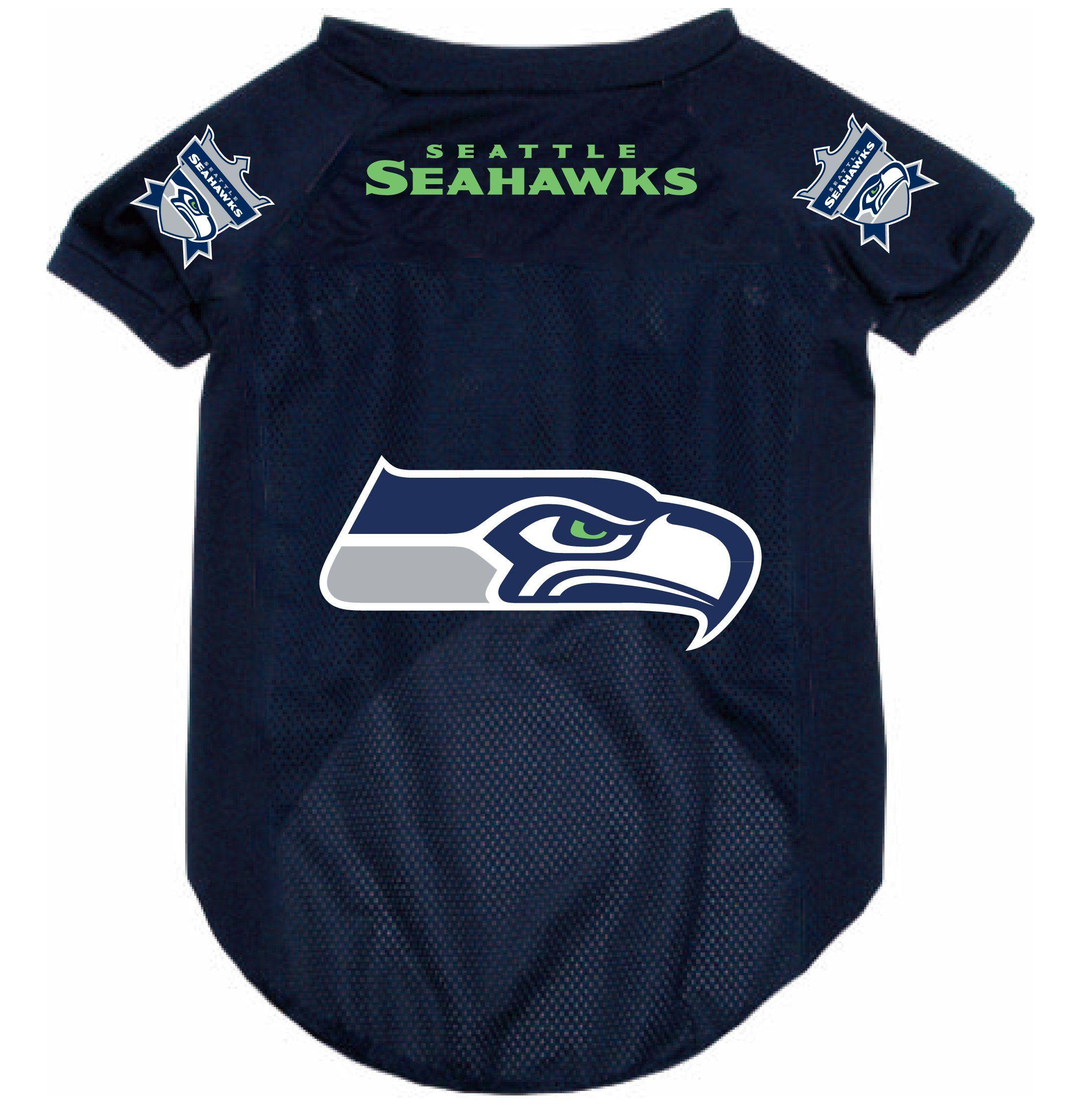 Seattle Seahawks Pet Dog Football Jersey