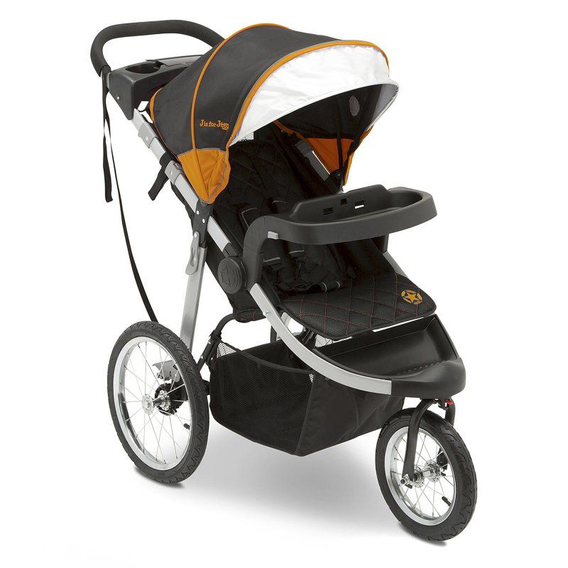 Unlimited Range Jogger Stroller Trek Orange Tonal By Jeep Delta Children Double Jogging Stroller Baby Strollers