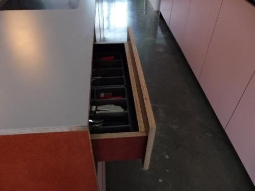 Betonplex keuken retro keukens