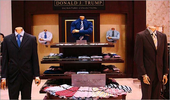 Trump Merchandise Donald J Trump Signature Collection Trump