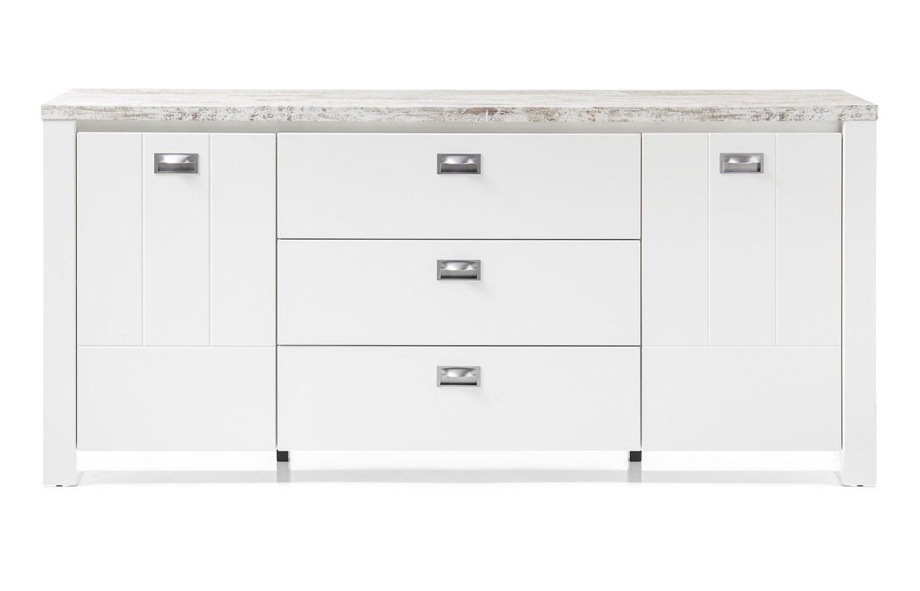 Buffet 2 Portes 3 Tiroirs Melly Pas Cher Buffet But Iziva Com Tiroir Decoration Blanc Buffet
