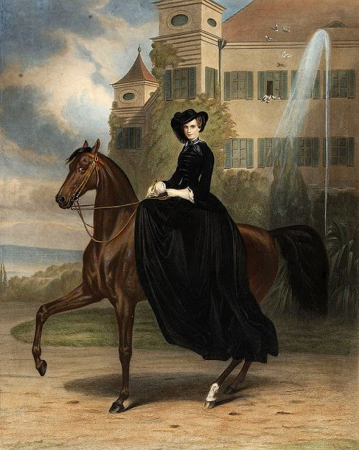 Reinette: Amazons and Equestriennes:Ladies on Horseback