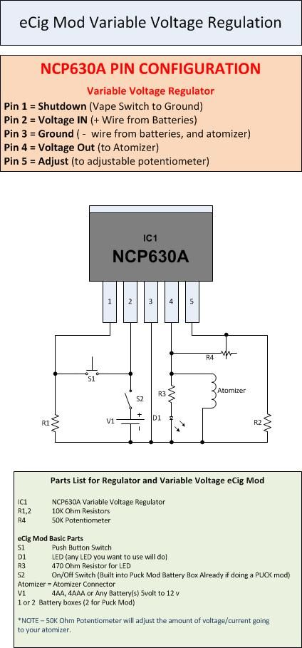 voltage regulator design | DIY Vaping MOD\'s | Pinterest | Voltage ...