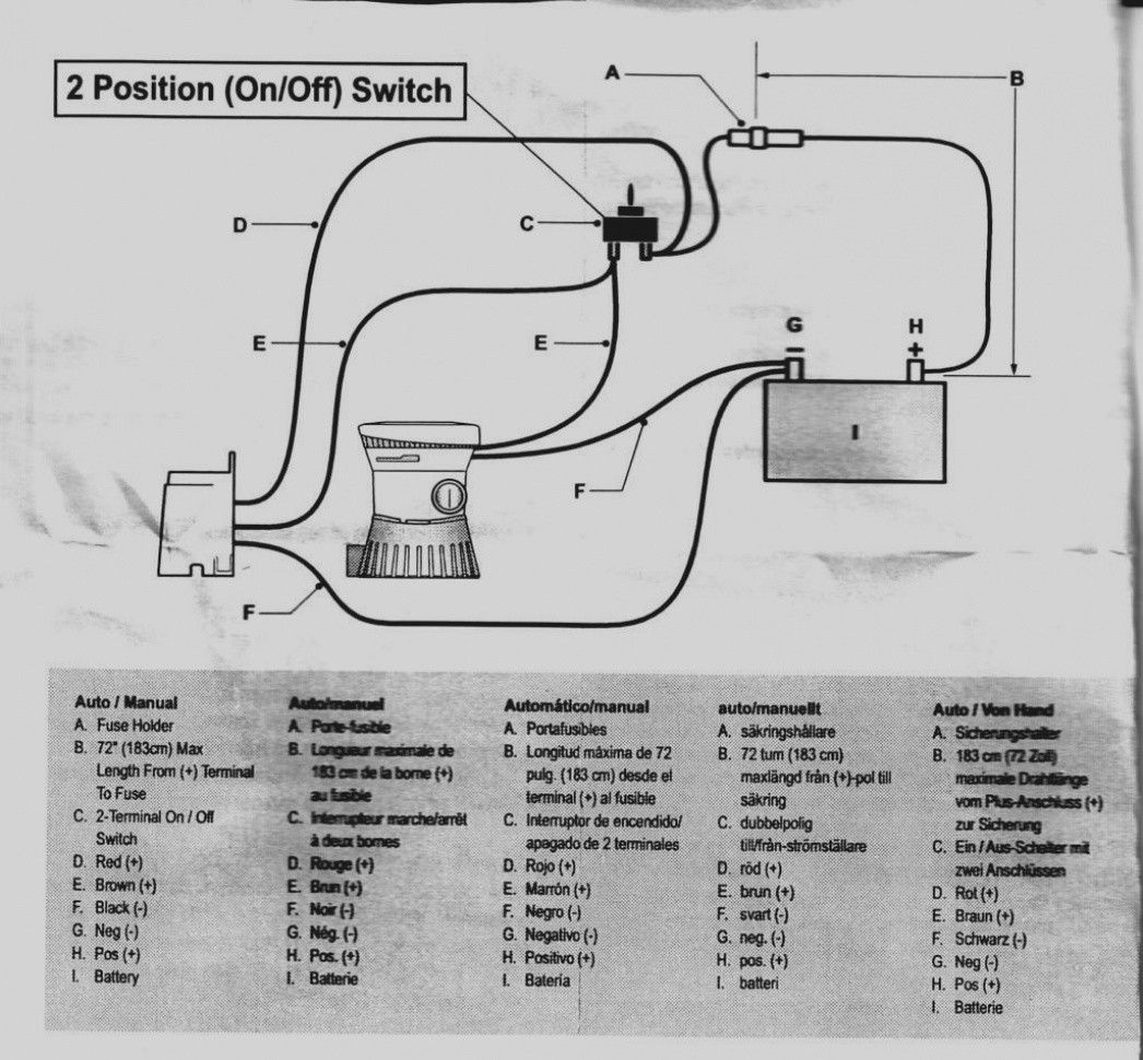 New Rule Bilge Pump Switch Wiring Diagram In 2020