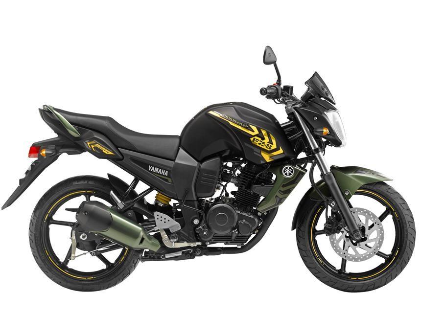 2013 Yamaha Fzs Battle Green Special Edition Fz Bike Yamaha
