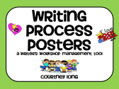 Rock Star Writing Process Posters and Management Tool with Picture Clues  product from Classroom-Snapshots on TeachersNotebook.com