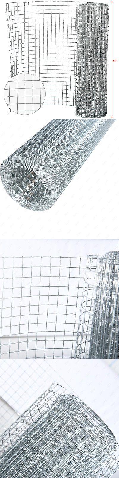 Hardware Cloth Metal Mesh 180985: 48 ×50 1 2 Galvanized Welded Wire ...
