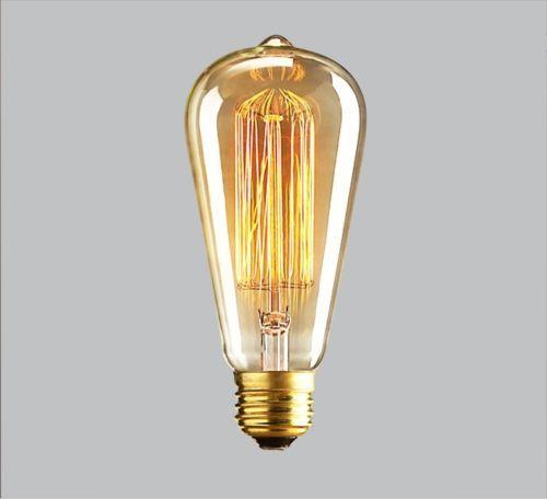 warmweiss-Edison-Lampe-Nostalgie-vintage-E27-60W-Gluehlampe-Gluehbirne-Licht