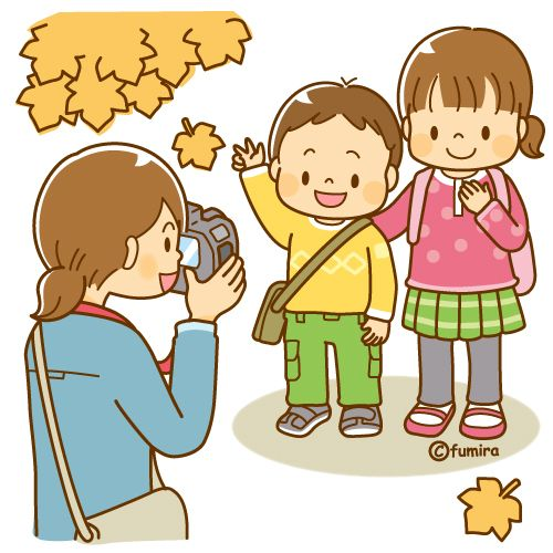 写真を撮るママと子供たち ソフト Rotina Na Educacao Infantil