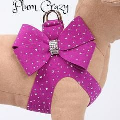 Nouveau Bow Step In Harness Silver Stardust on Bow & Harness