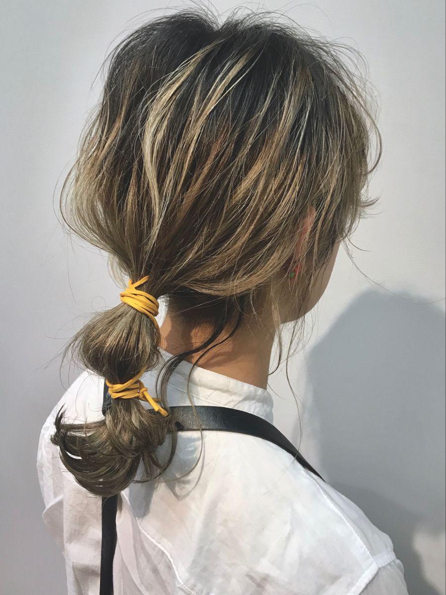 紐アレンジ おしゃれまとめの人気アイデア Pinterest Hair Stylist
