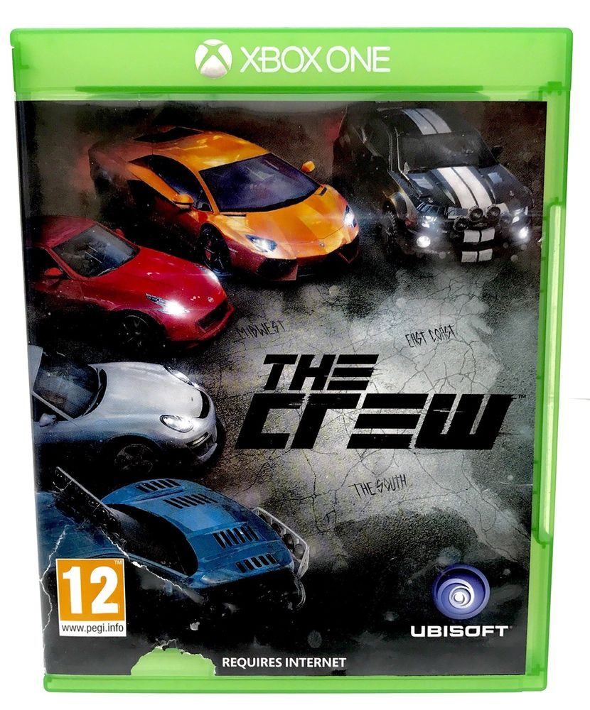 Xbox One Video Game The Crew Complete Very Nice Disc FAST