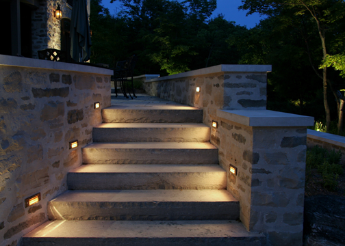 Lovely Soft Symmetrical Built In Landscape Lighting Landscape Lighting Design Coastal Cottage Style Landscape Lighting