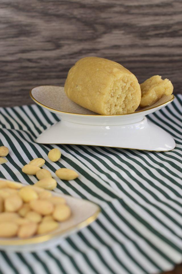 Marzipan selber machen (mit viiiel weniger Zucker) - Kohlenpottgourmet