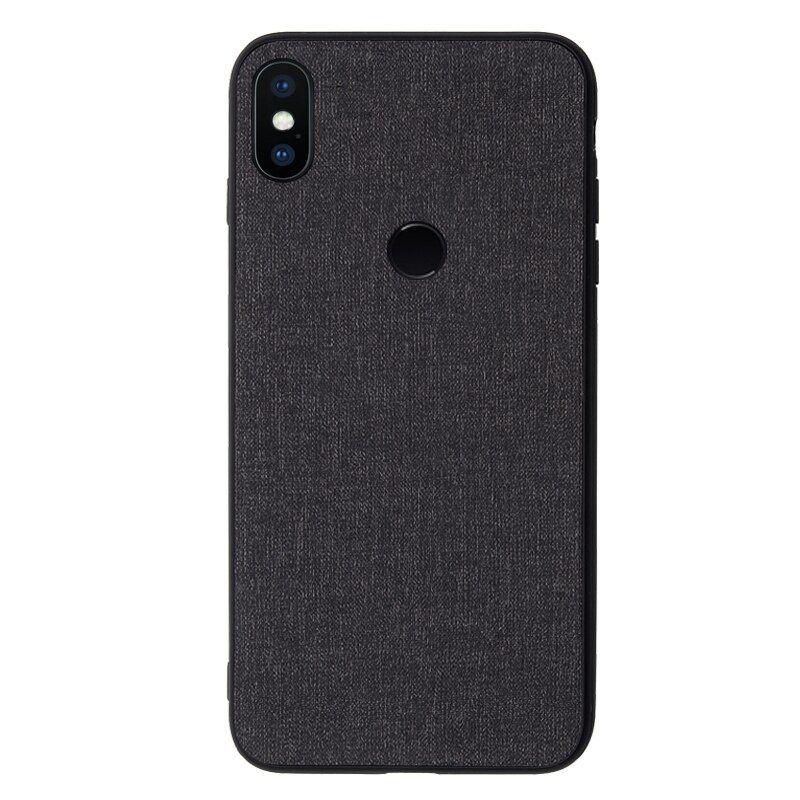 For Xiaomi Mi A2 Lite Case Pocophone F1 Case Vintage Grid Fabric Anti Knock Cover For Xiaomi Pocophone F1 Case Back Shell S0720 Case Xiaomi Phone Case Cover