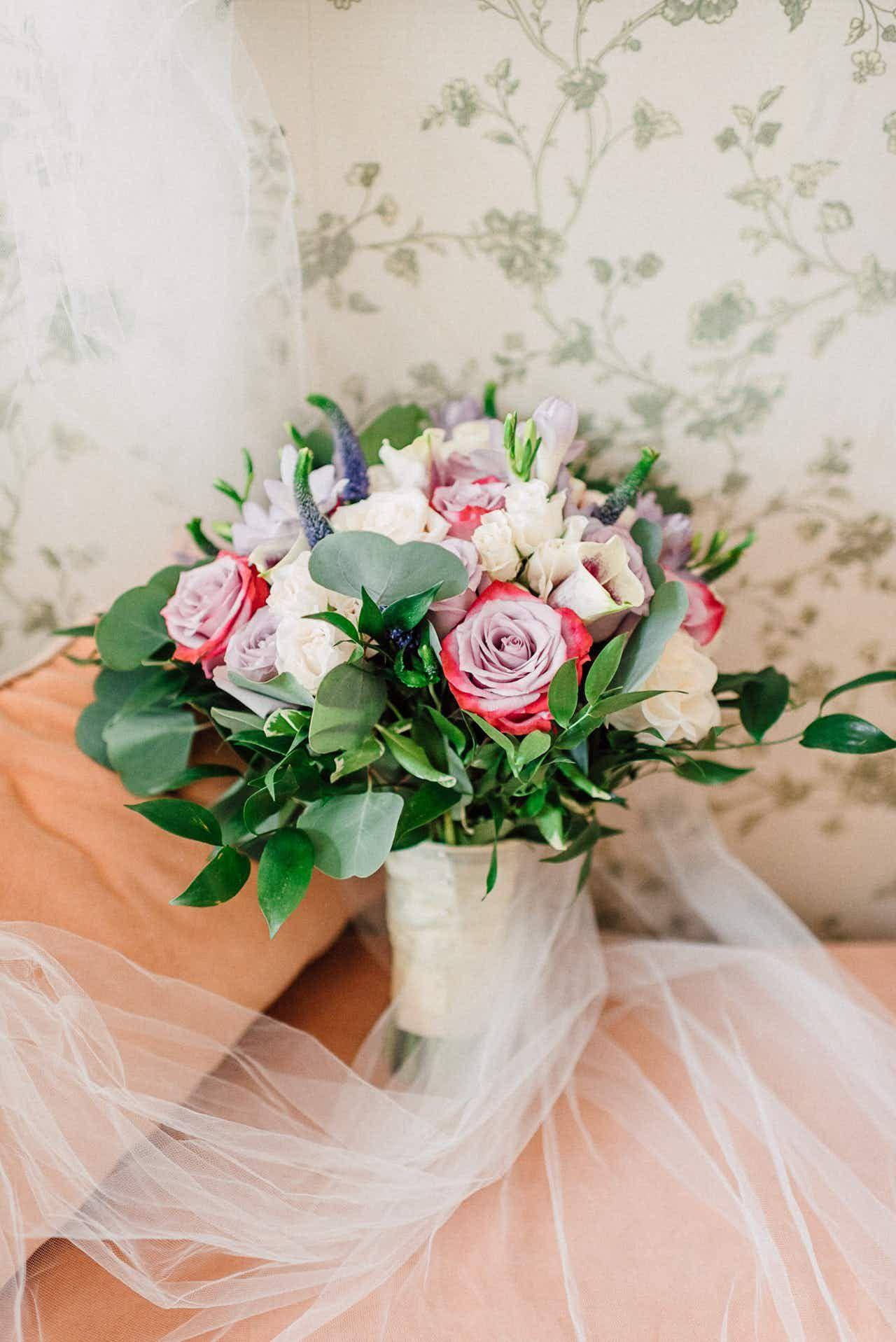 A Pretty Pastel Bridal Bouquet Fresh Sustainable Flower