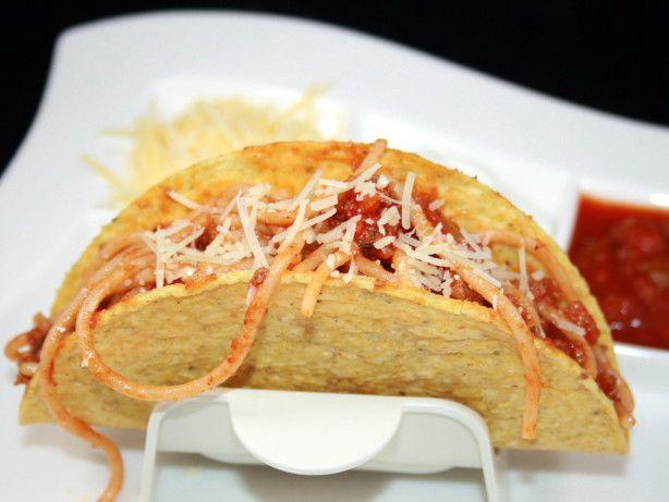 Spaghetti Tacos Recipe Food Com Rezept Rezepte Essen Kochen