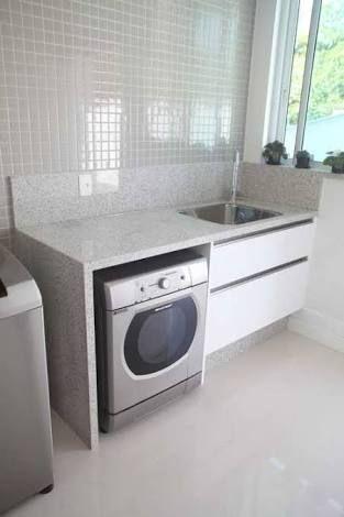 Bancada granito lavanderia pesquisa google interiores for Base para lavadero