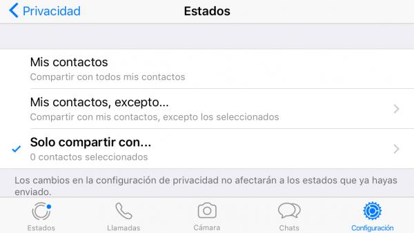 Cómo No Compartir El Estado De Whatsapp Con Nadie Estados Para Whatsapp Trucos Para Whatsapp Trucos