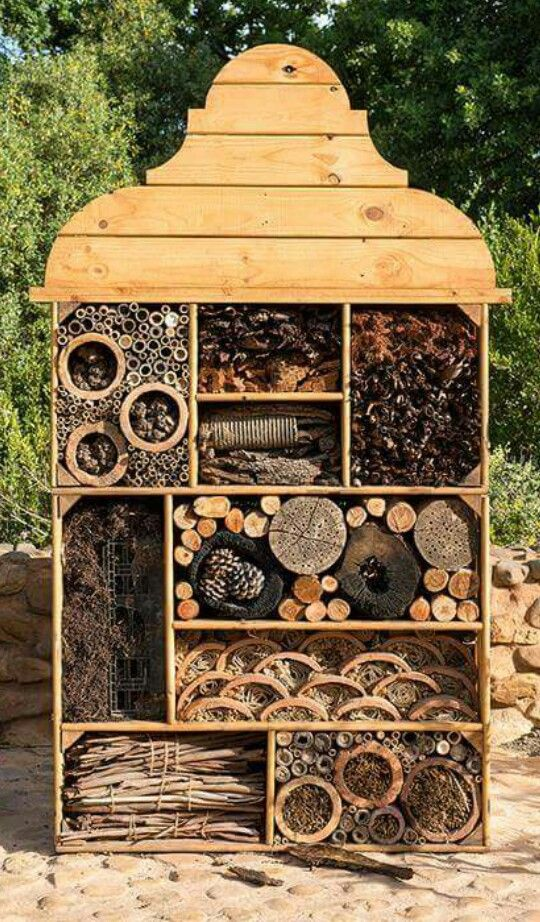 Insect hotel Insect hotel, Bug hotel, Garden pests