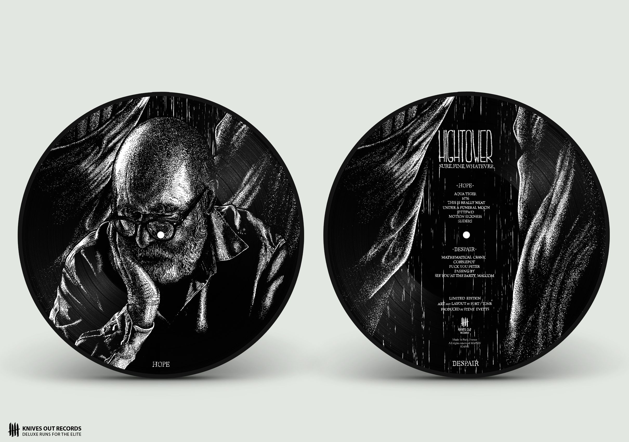 """HIGHTOWER picture disc 12"""""""