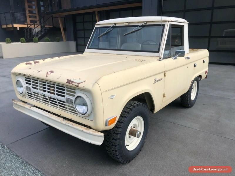 1968 Ford Bronco Pickup Ford Bronco Forsale Canada Ford Bronco Bronco Cars For Sale