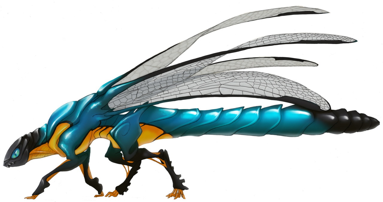 Dragonfly dragon by ~greyanimebeast on deviantART