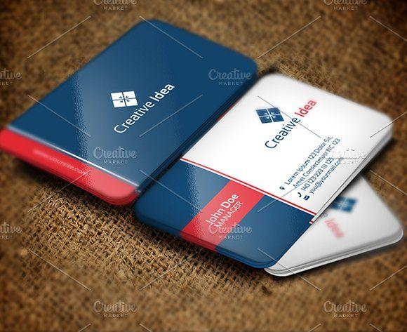 Creative idea business card pinterest business cards and card creative idea business card by zia grfx on creativemarket reheart Choice Image