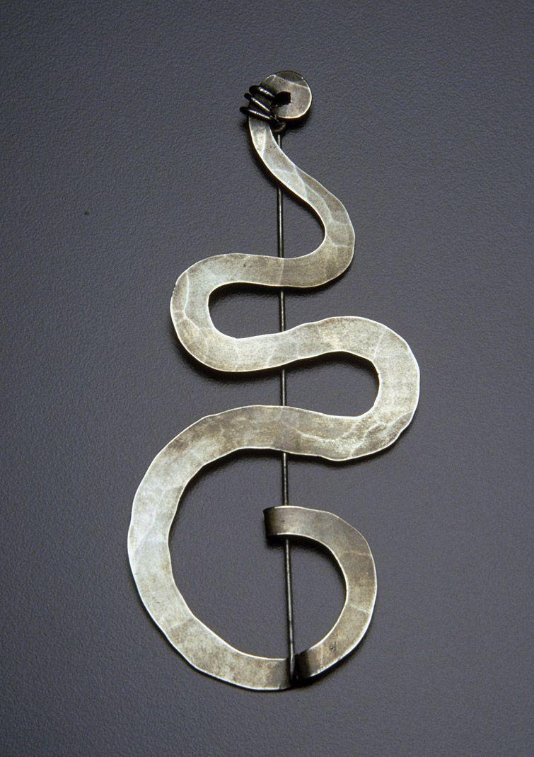 Brooch | Alexander Calder.  Silver.  ca. 1940