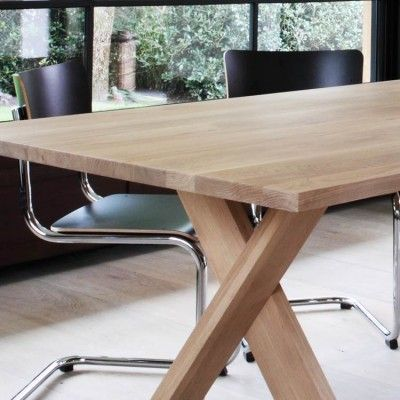ethnicraft oak dining table pettersson - Contemporary Oak Dining Table