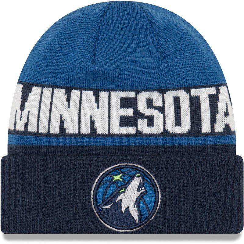 Minnesota Timberwolves New Era Youth Chilled Cuffed Knit Hat