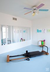 Fitness Room Mirrors  Don't drive yourself crazy trying to get home fitness room mirrors lined up ev...