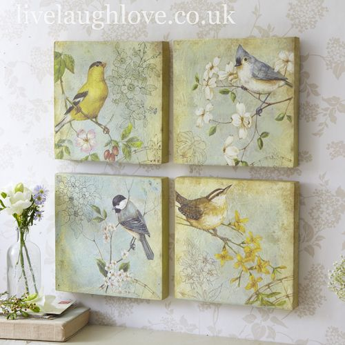 Bird Pictures Set Of 4 Love This Just Need To Find
