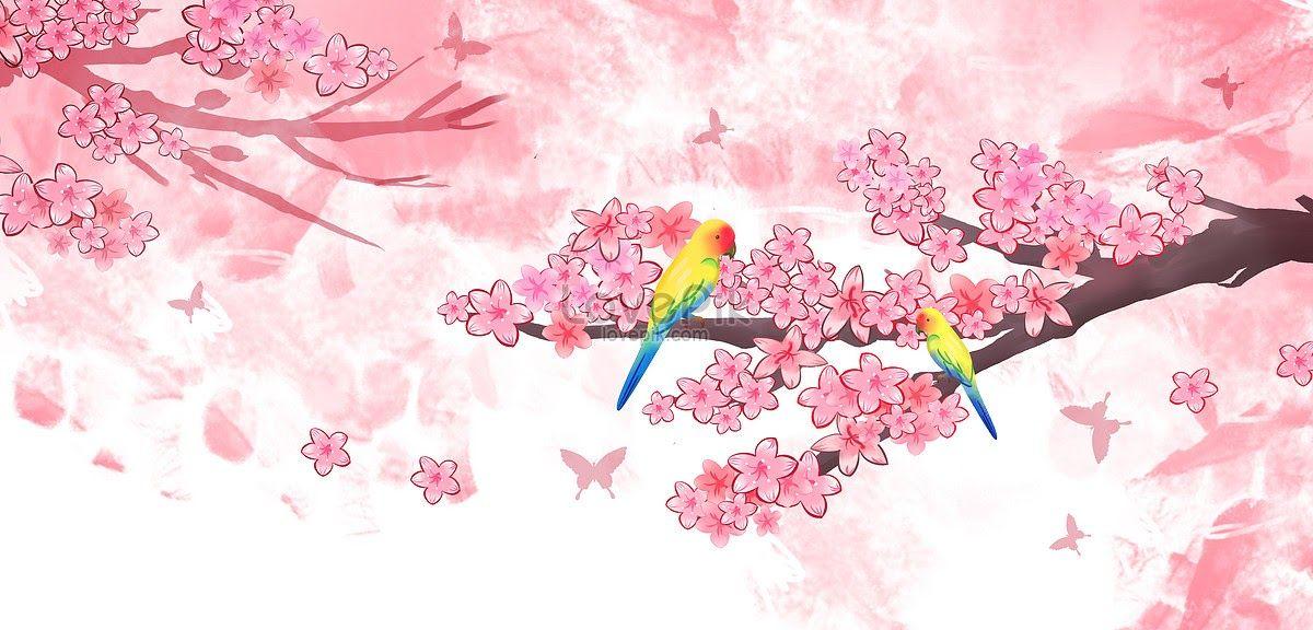 11 Gambar Pemandangan Bunga Sakura Bergerak Di 2020 Bunga