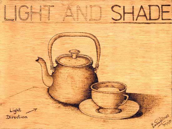 Linda Fellows Worksheets - 3. Light & Shade