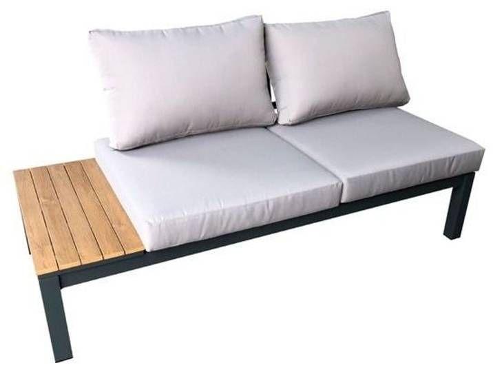Lounge Sofa Summerlounge 2 Sitzer Grau Aluminium In 2020