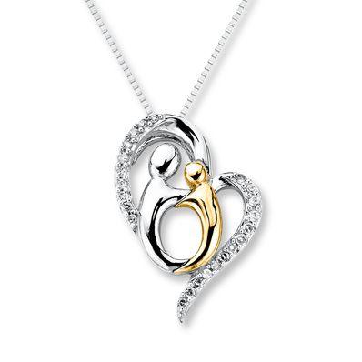 I Heart My Husband Pendant Hubby Love Charm 10K Yellow Gold