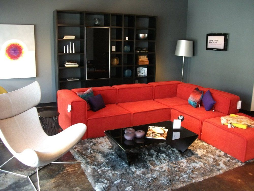 Boconcept Carmo Sofa Lecco Wall System And Imola Chair With Images Living Room Decor