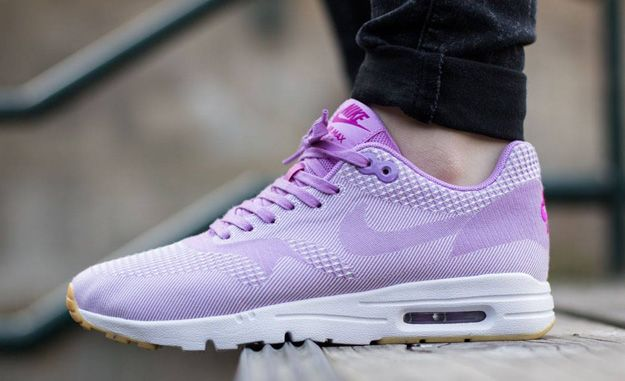 lowest price 64dc6 23980 Nike Wmns Air Max 1 Ultra Jacquard - Fuchsia Glow Fuchsia Flash-White-