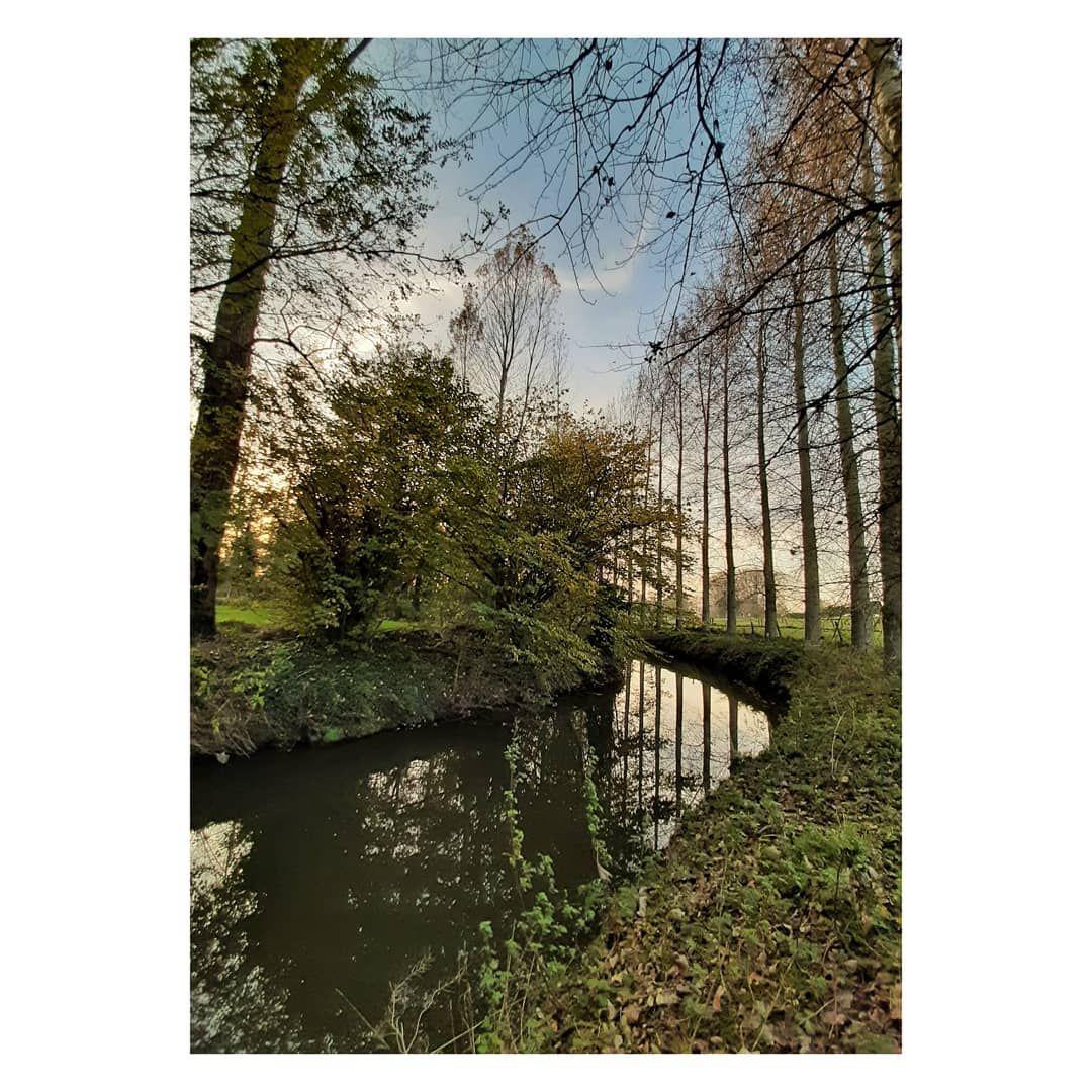 't Zat vroeger zalm in de Zwalm, denk ik. . . #nature #natureview #naturelover #ig_nature ##trees #simple #simplelife #simplestyle #keepitsimple #landscape #landscapelover #walk #naturewalk #zwalm