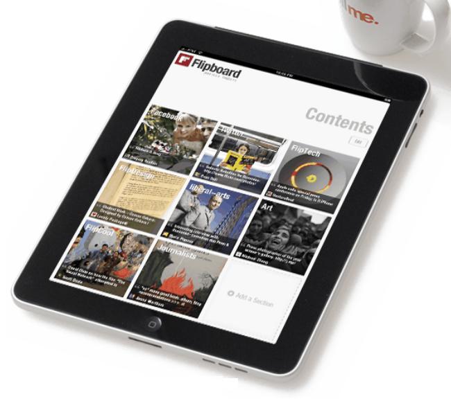 Facebook Developing Flipboard-like Newsreader  #socialmedia #facebook #flipboard