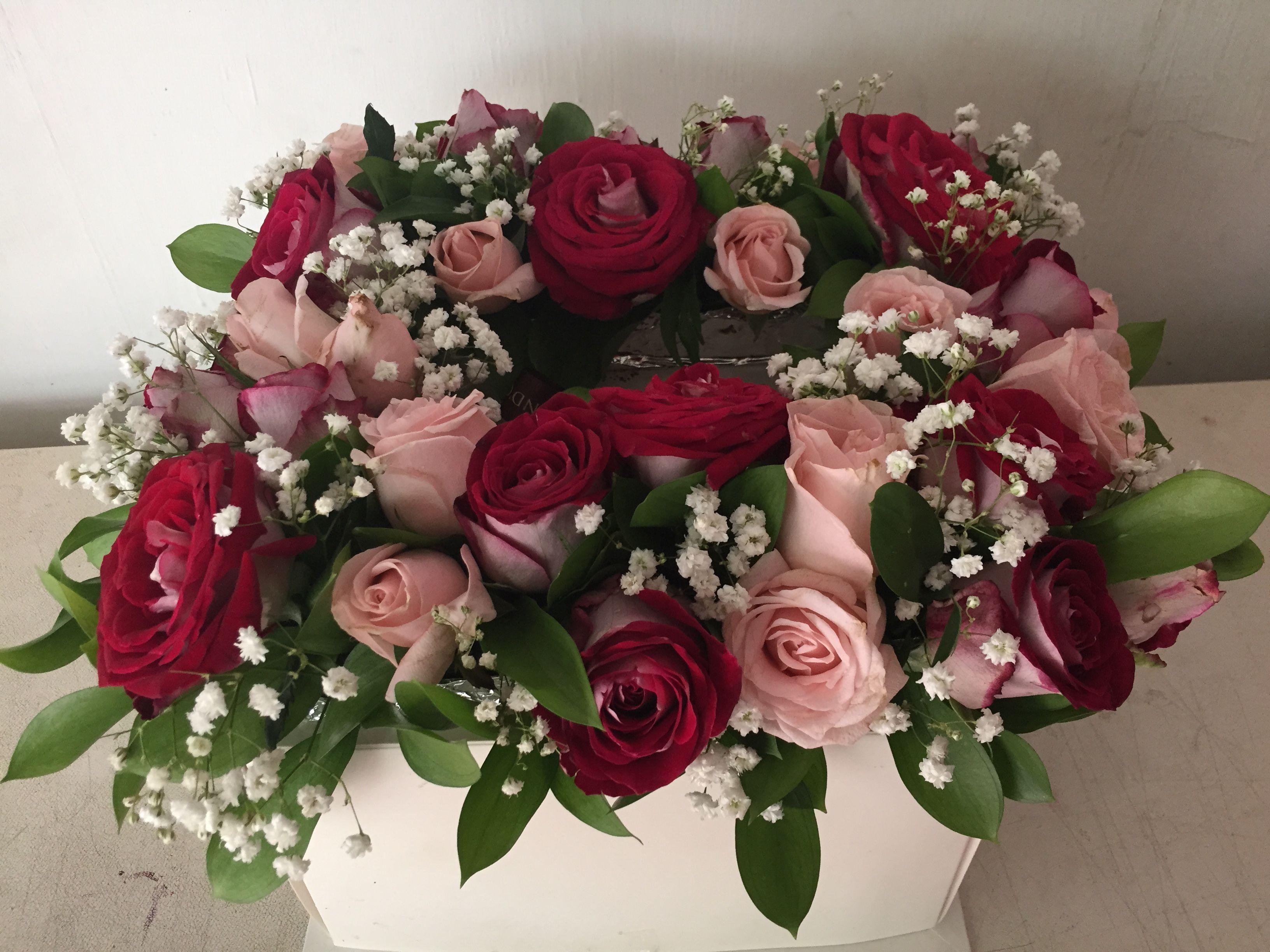 cake and lovely roses | gift & flower | pinterest | gift flowers