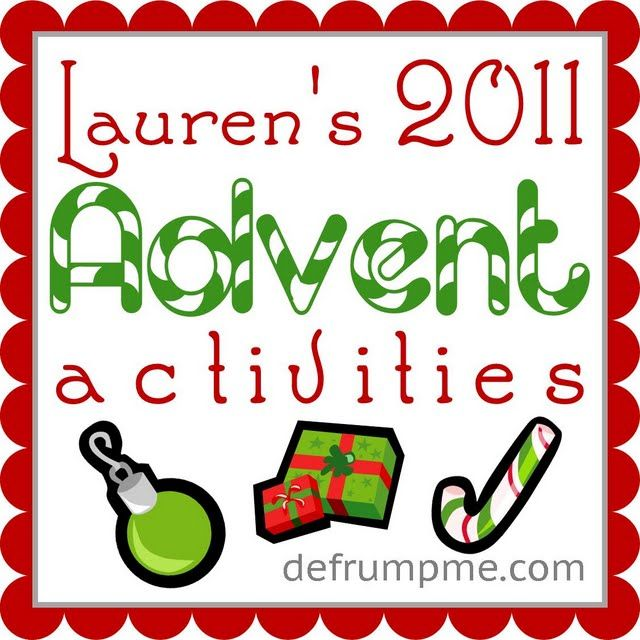 25 Days of Christmas! Advent activities