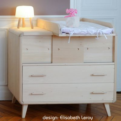 La commode bébé design Vogue de ZineZoé | Kids | Interior ...